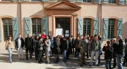 La réunion syndicale a rassemblé plus de 200 agents déterminés à se faire entendre ./ Photo DDM, Ch. Longo