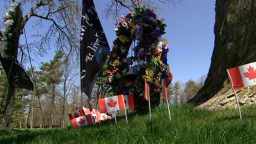 Une cérémonie a été organisée au parc Vincent-Massey d'Ottawa.