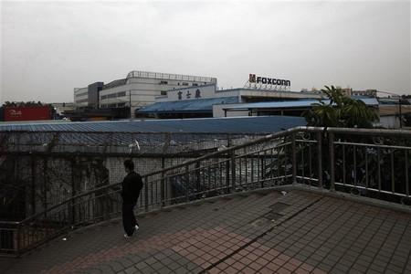 Usine de Foxconn, en février 2012 - Photo REUTERS/Siu Chiu