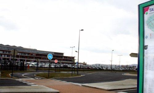 L'unité psychiatrique de l'UPC est discrétement accolé au centre hbospitalier Pays d'autan/ Photo DDM, archiv es, T.A.