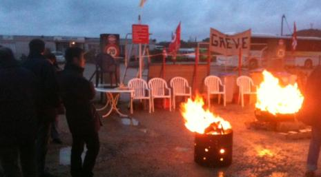 La grève menée par la CGT, comme ici il y a trois semaines à Lons-le-Saunier, a porté ses fruits pour les salariés.