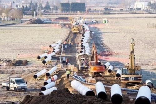 Le chantier a démarré en janvier et devrait s'étaler sur toute l'année (Bernard Le Page)
