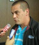 Nicolas Guermonprez, délégué CGT de Renault Sandouville à la sortie du tribunal