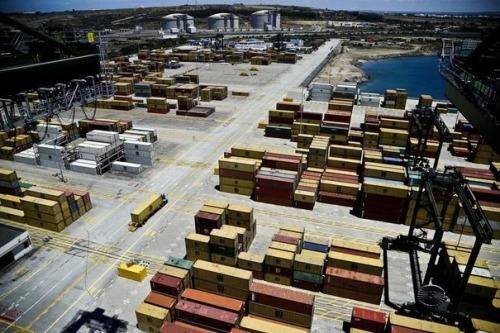 Un terminal du port de Sines