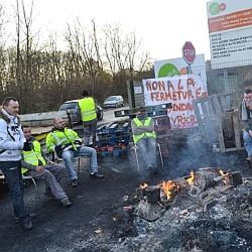 En grève depuis lundi, les salariés de l'entreprise de déconstruction automobile ne font que commencer le combat.