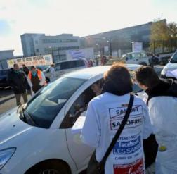 Sanofi : cent Toulousains manifestent demain à Gentilly