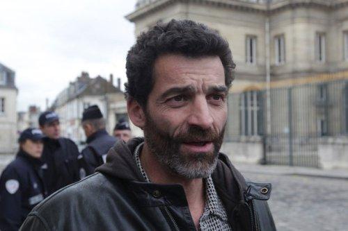 Xavier Mathieu, délégué CGT de l'usine Continental de Clairoix, dans l'Oise.