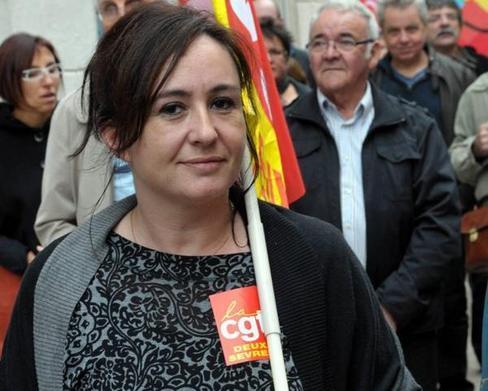 (*) Vanessa Couturier, secrétaire générale UD Deux-Sèvres