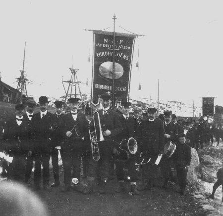 1 mai 1908 à Sulitjelma (Norvège)