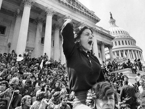 1er mai 1971 : Manifestation à Washington contre la guerre du Vietnam
