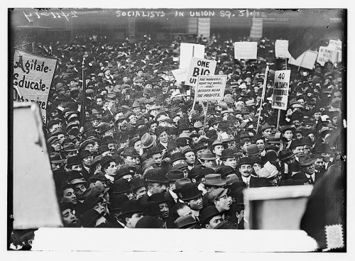 1 Mai 1912 à NewYork