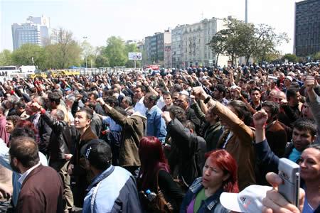 Manifestation du 1er Mai 2007 à Istanbuk