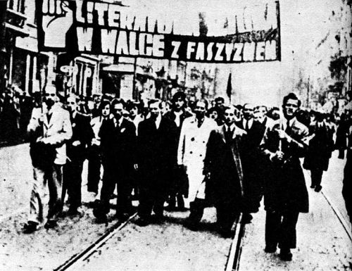 Manifestation du 1er Mai 1936 à Varsovie