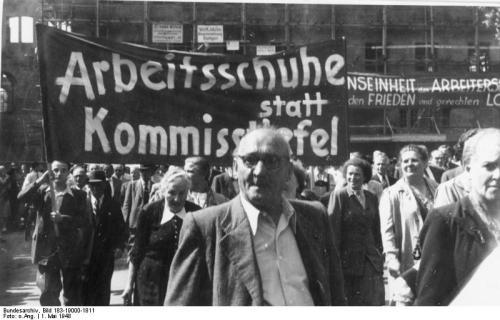 1 mai 1948 à Stuttgart
