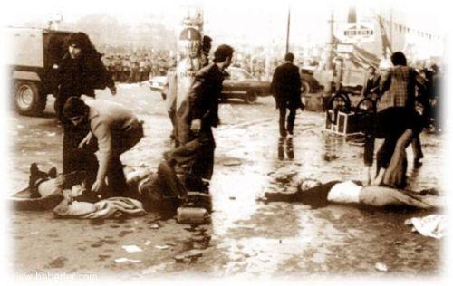 1 mai 1977 : Massacre de la Place Taksim à Istanbul