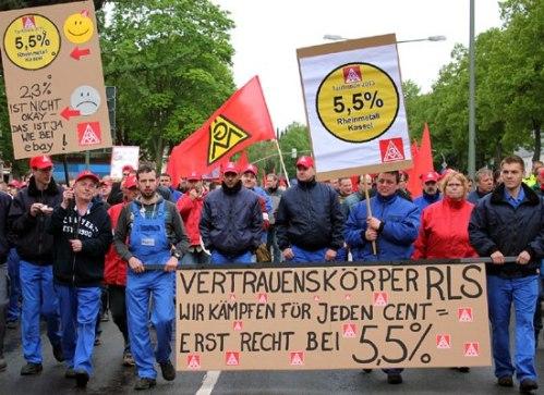 Manifestation à Kassel