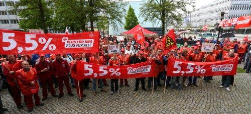 Manifestation à Magdebourg