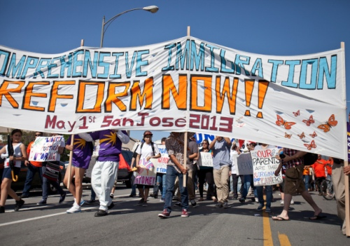 Manifestation à San José