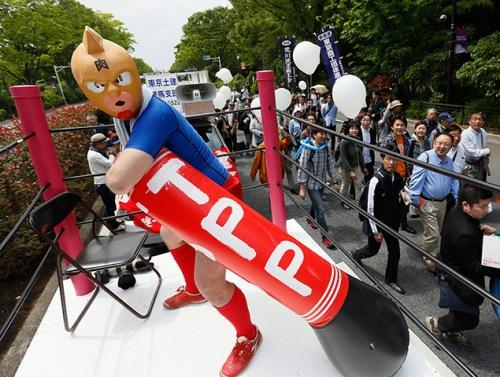 Workers demonstrate in Tokyo, Japan