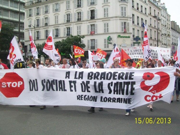 France : Appel à une assemblée générale nationale des travailleurs des hôpitaux à Caen dans hopitaux sante social