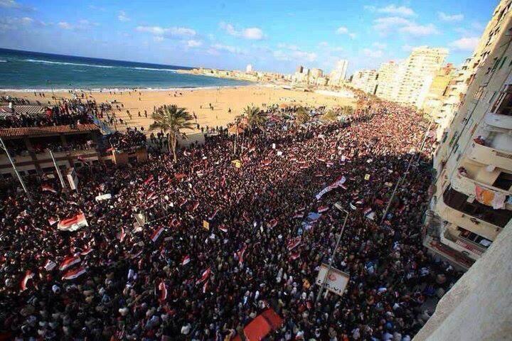 Egypte 1er juillet - 1 h : la plus grande manifestation de l'histoire de l'humanité (4/6)