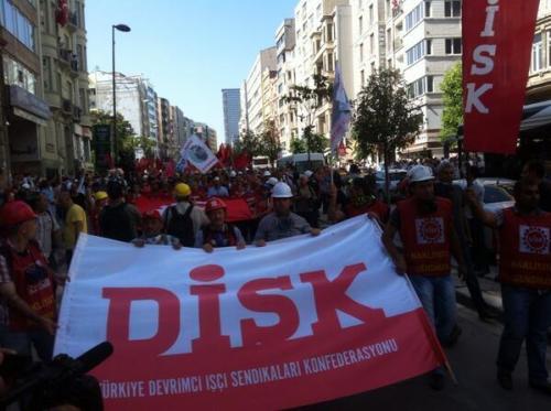 Manifestation du DISK à Halaskargazi