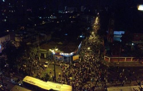 Manifestation à Niteroi, 19 juin