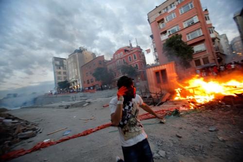 Affrontements Place Taksim, 31 mai