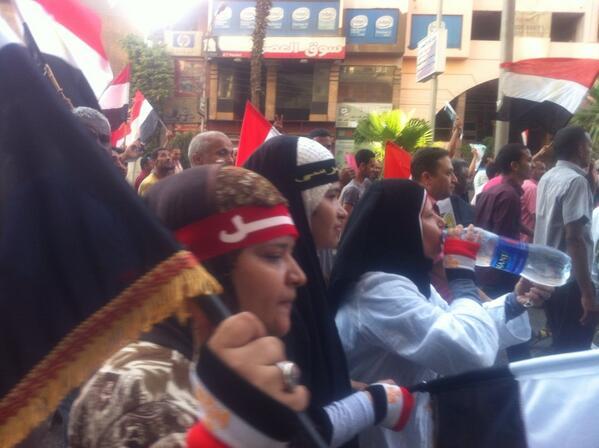 Egypte 1er juillet - 1 h : la plus grande manifestation de l'histoire de l'humanité (6/6)