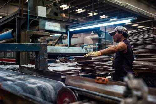 05 Janvier 2013, Neuquén, Argentine. En décembre 2012, après onze ans de procédures, les ouvriers ont obtenu l'expropriation officielle de leur ancien patron, Luigi Zanon. Durant cette même période, l'usine est passée de 230 ouvriers à 437.