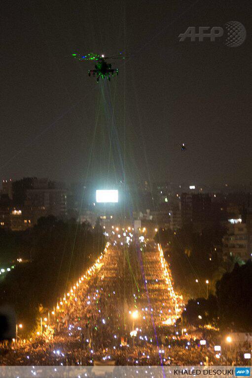 Egypte 1er juillet - 1 h : la plus grande manifestation de l'histoire de l'humanité (2/6)
