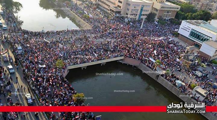 Egypte 1er juillet - 1 h : la plus grande manifestation de l'histoire de l'humanité (3/6)