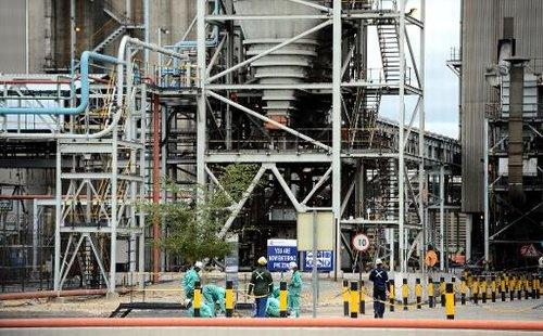 La mine Anglo American Platinum de Rustenburg, au nord-ouest de Johannesburg, le 16 janvier 2013