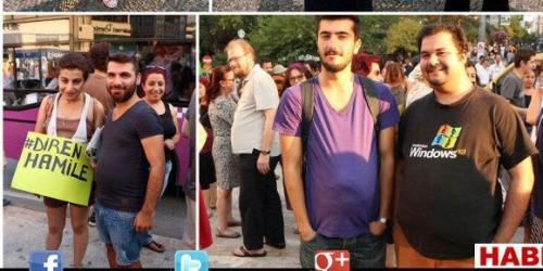 """Des hommes et des femmes ont manifesté en Turquie en réaction aux propos d'un penseur islmaique sur les femmes enceintes. Selon lui, voir des femmes enceintes dans la rue est la fois """"laid"""" et """"immoral""""."""