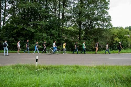 Marche entre Creußen à Auerbach (21 août)