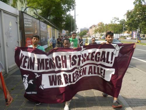 Arrivée à Nuremberg, 24 août