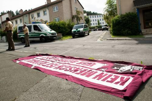 Pegnitz, 21 août : contrôle policier et arrestations