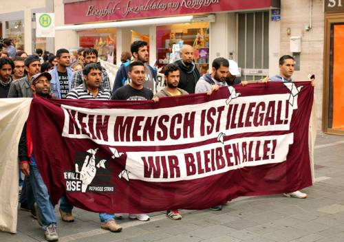 Manifestation à Ratisbonne, 27 août