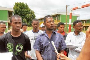 Les étudiants de Vontovorona manifestent pour réclamer les arriérés de leurs bourses d'études.