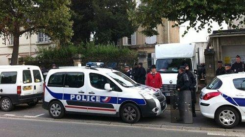 Évacuation du squat du 202 rue de Bayeux à Caen, 19 septembre 2013