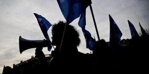 Manifestation contre l'austérité au Portugal, un des pays les plus affectés par la politique d'austérité prônée par les bailleurs de fonds internationaux.