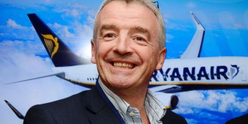 Le PDG de Ryanair Michael O'Leary, le 19 juin au Bourget.