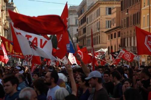 Manifestation contre l'austérité à Rome le 19 octobre