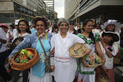 L'objectif de la manifestation est de gagner le droit au «respect», a expliqué à l'AFP Paoloa Andre Jimenez, une femme d'origine indigène, venue depuis la province du Cauca (sud-ouest), l'une des plus secouées par le conflit.