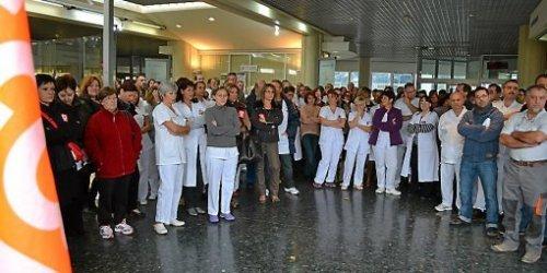 Le personnel a voté à l'unanimité la possibilité d'une grève le 21 novembre.