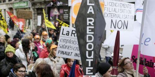Une nouvelle manifestation des salariés de La Redoute est prévue pour le 13 décembre.