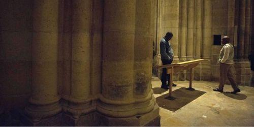 Des mal-logés avaient déjà occupé la basilique Saint-Denis en septembre 2012.