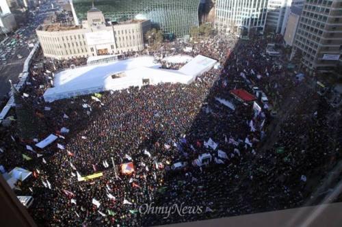 Meeting contre la répression antisyndicale ce 28/12 à Séoul