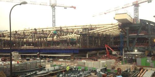 Le chantier des Halles, qui a débuté en 2010, a été le théâtre d'un seul accident grave, le 23 septembre dernier. Trois incidents se sont également produits sans faire de blessé.