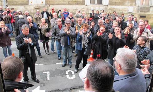 « On a gagné! », ont entonné les salariés hier à l'annonce du jugement par les prud'hommes